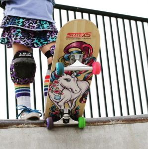 Skate XS and Pride Socks