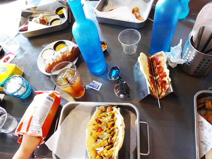 Hot Dogs at Short Leash