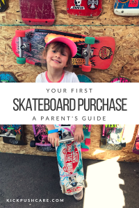 Making Your First Skateboard Purchase