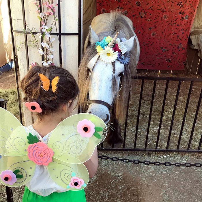 Renaissance Festival Unicorn